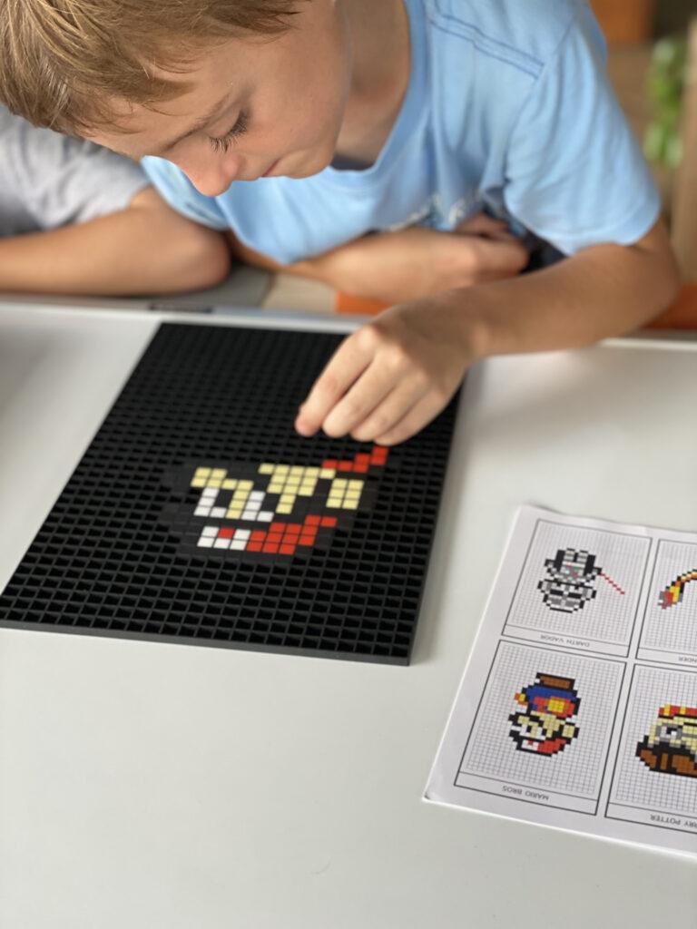 Dodocraft Pixel Art Mario