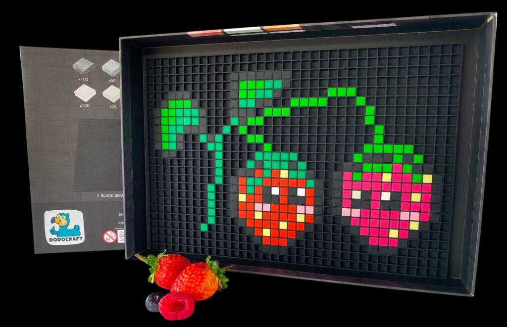 Pixel Art Erdbeer Dodocraft
